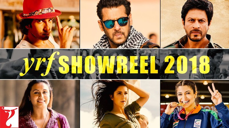 YRF Showreel - 2018 | Relive the Magic of Movies