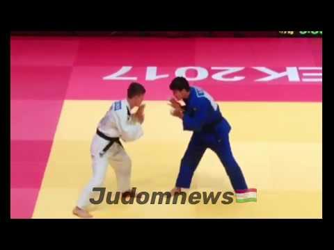 Asia Championship Cadets 2017 -73kg Abdulloev Eradzh (TJK) - (KGZ) Amonov Ishen