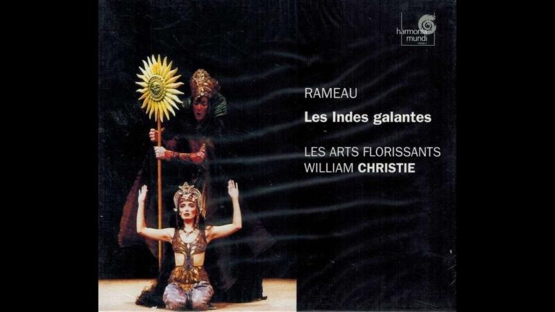 RAMEAU - LES INDES GALANTES - PALAIS GARNIER - 17 .09. 1999