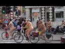 Naked bike ride in Brussels, Belgium - 2018-06-16