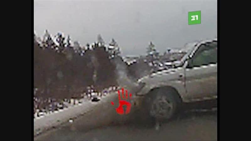 На трассе Бакал - Сатка 53-летний водитель автомобиля Мицубиши Паджеро выехал на полосу встречного движения,