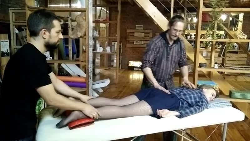 Перкуссионный массаж на Мельнице