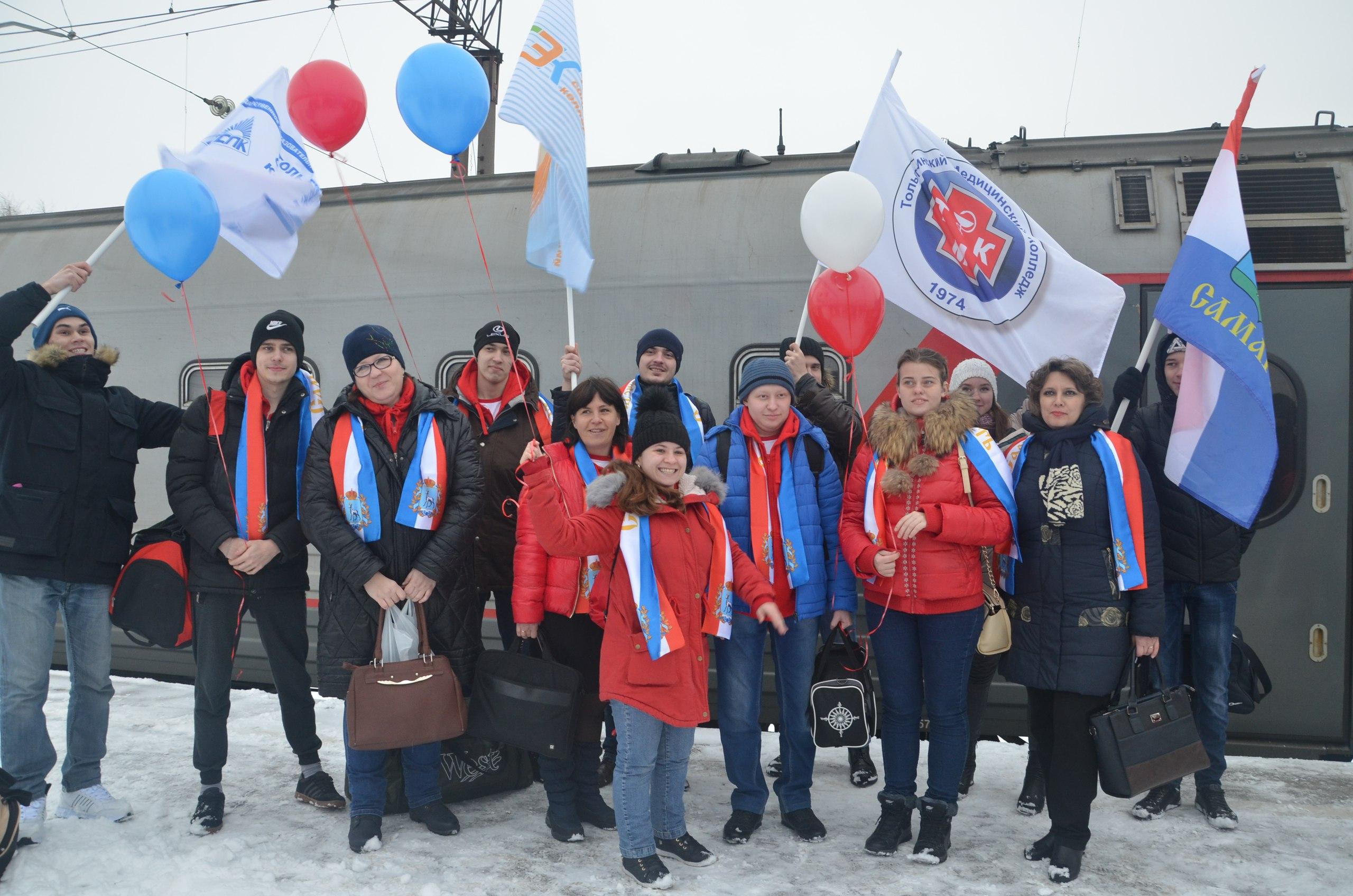 Встреча тольяттинской команды Абилимпикс