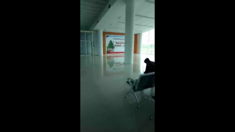 Комодо Аэропорт -Ос.Флорес Индонезия
