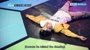 I'm the best dancer! Feeldog's breathtaking dance steps [The Unit/2018.01.03]