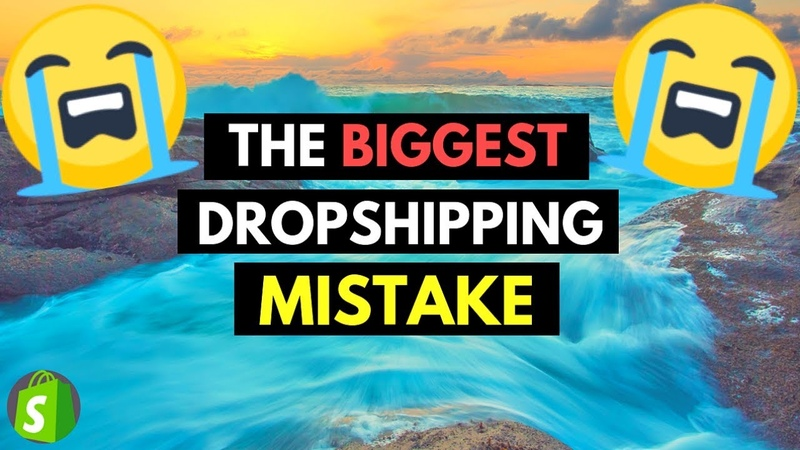 WARNING🚨 THE BIGGEST DROPSHIPPING MISTAKE (WILL MAKE YOU CRY)