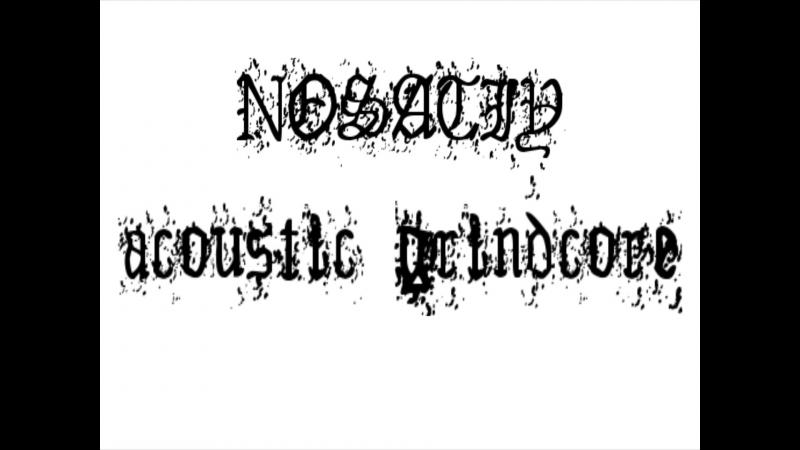 NOSATIY - acoustic grindcore