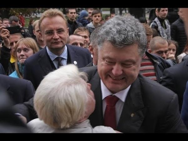 Скандал! Плевок в Лицо- Порошенке в прямом эфире. Его УНИЗИЛ журналист Шустер
