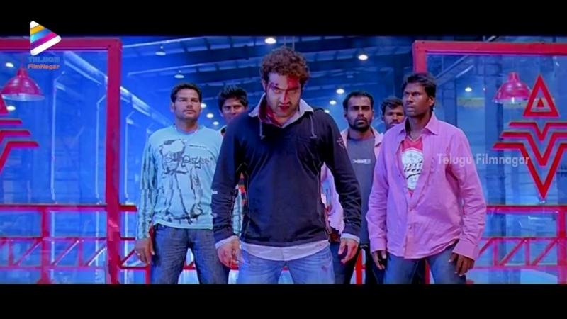 NTR Kills Vidyut Jamwal _ Oosaravelli Telugu Movie Scenes _ Tamanna _ Prakash Raj _ DSP