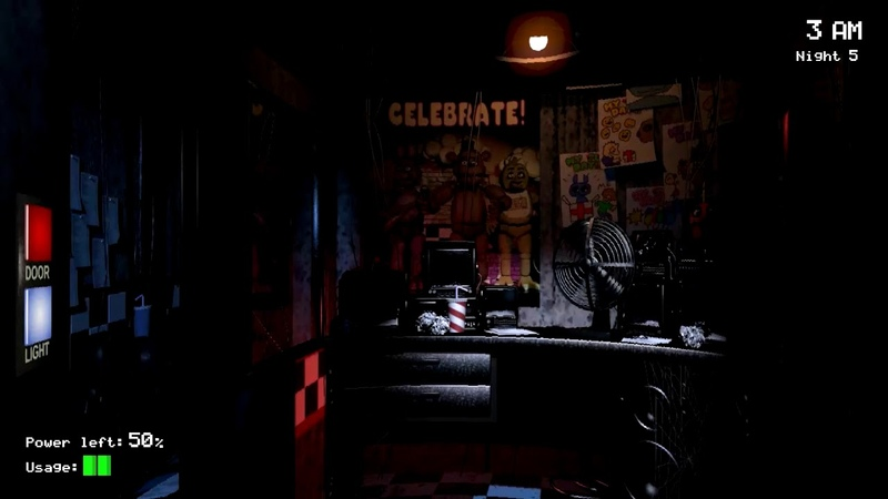 8Bit: Five Nights at Freddy's [5 Ночь] [Прохождение]