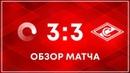 Мосполитех - Спартак - 3:3. Обзор матча