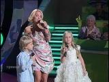 Ангелы - исполняют Лариса Грибалева, сын Арсений и дочь Алиса