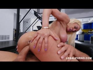 [LegalPorno.com] Latina Queen Luna Star Shows Us Why Shes A Pornstar Vs 2 Cocks AB007 / 10.04.2018 [Anal, Gape, Big tits, DP]