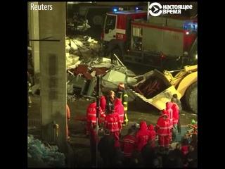 Трагедия в Золитуде: обрушение ТЦ в Риге в 2013