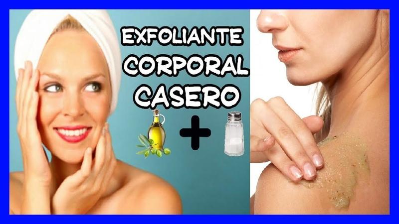 Exfoliantes Caseros Para Limpiar el Cuerpo