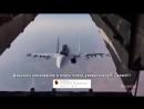 Русская авиация. Очень эффектное появление истребителя