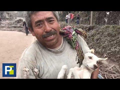 Sobreviviente en Guatemala narra cómo su familia se salvó de la erupción del volcán