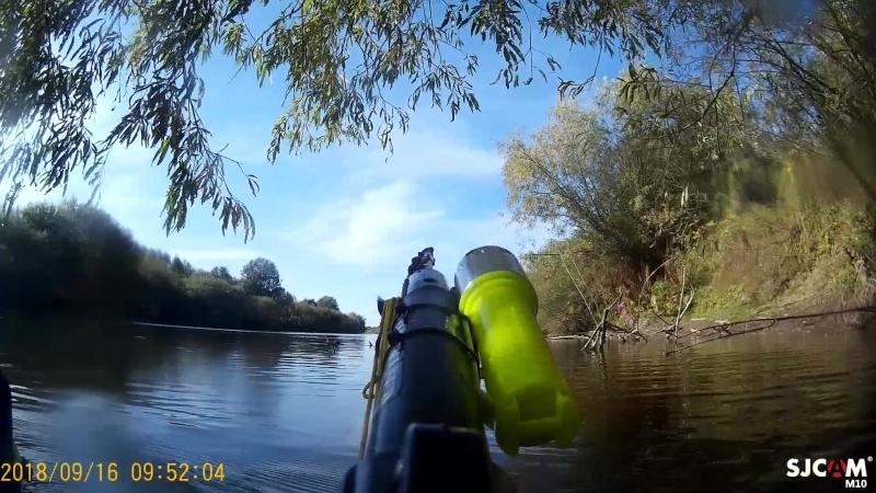 река немда подводная охота