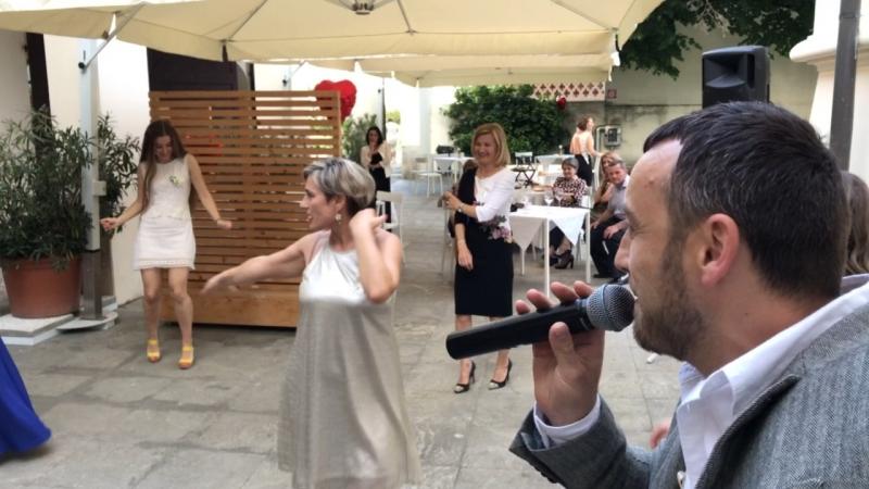 Певец на свадьбу в Италии