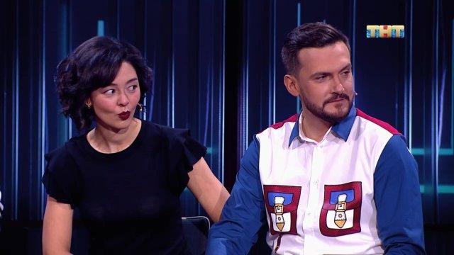 Импровизация: Марина Кравец и Андрей Аверин, 4 сезон, 6 выпуск (08.05.2018)