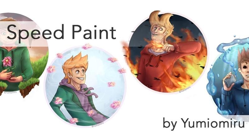 Eddsworld Elements【Speed Paint】