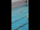 Первые Толины соревнования по плаванью 16.12.17