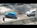 Типичное авто-быдло, заехать на тротуар и встрять на газоне г.Пенза - группа АВТОХАМ Пенза