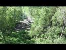 Канатно-кресельный подъемник. Спуск с горы Малая Синюха 1012 метров над уровнем моря. Часть 2