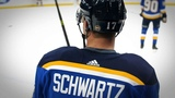 """""""We cant wait to see what Schwartzy will do this season! #stlblues"""""""