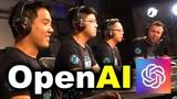 OpenAI vs HUMANS - AI vs 99.95 BEST PLAYERS 5v5 DOTA 2