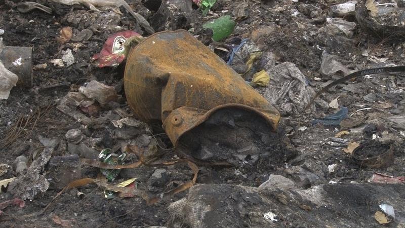 Сюжет ТСН24: В деревне Сухотино с дороги убрали свалку
