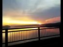 Рассвет с моста, красота