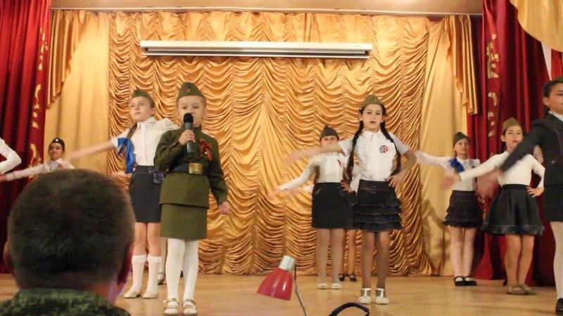 Катюша- исполняет Хан Аня 5 лет