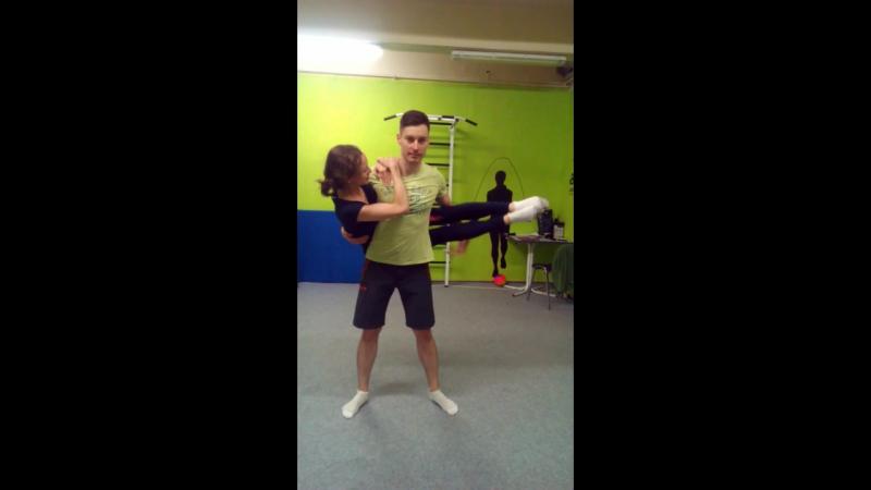 ПолуВиклер...Типо)тренировкистренером coach_khrapov прыжкинабатуте tambling trampoline hаndtohаnd swabs equilibration