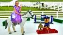 Видео для девочек - Софии Прекрасной подарили лошадь