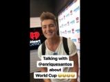 Алексей Воробьев IHeartRadio Y100miami Говорим с Enrique Santos о Кубке мира