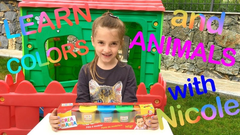 Learn Colors🌈Learn Animals 🐯for Kids Children Toddlers Nursery Rhymes Learning Video Crea Mania