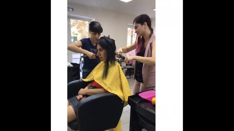 Дисциплинирование волос COIFFER. Обучающий МК