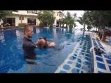Фридайвинг. Занятия в бассейне на первом уровне