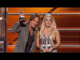 Keith Urban and Carrie Underwood Win Vocal Event Of The Year At The 53rd ACM Awards