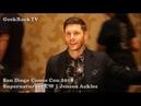 SDCC 2018 Supernatural Jensen Ackles