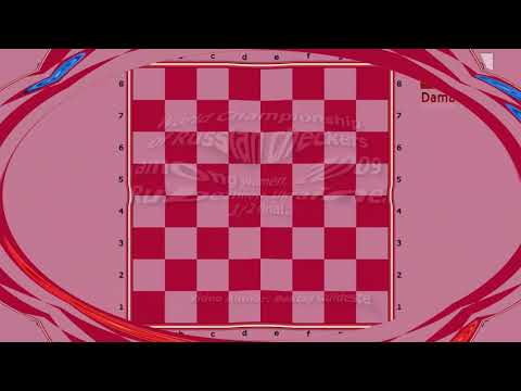 Shestakova Nataliya (RUS) - Pironen Regina (LVA). World Draughts-64_women-2009. Semifinal.