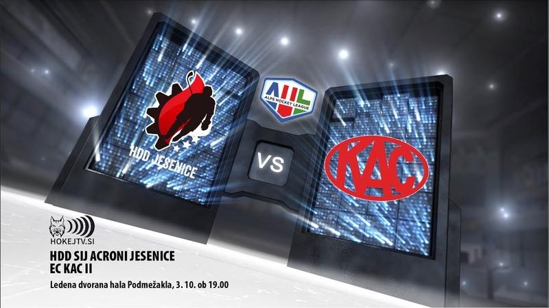 AHL: HDD Sij Acroni Jesenice - EC KAC II