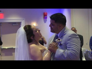 Quadruple amputee beats the odds to walk down the aisle