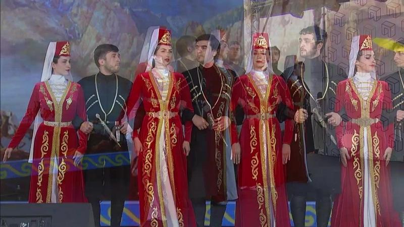 Ансамбль Аллон на Фестивале народов Москвы