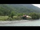 Мой полет на тарзанке через реку