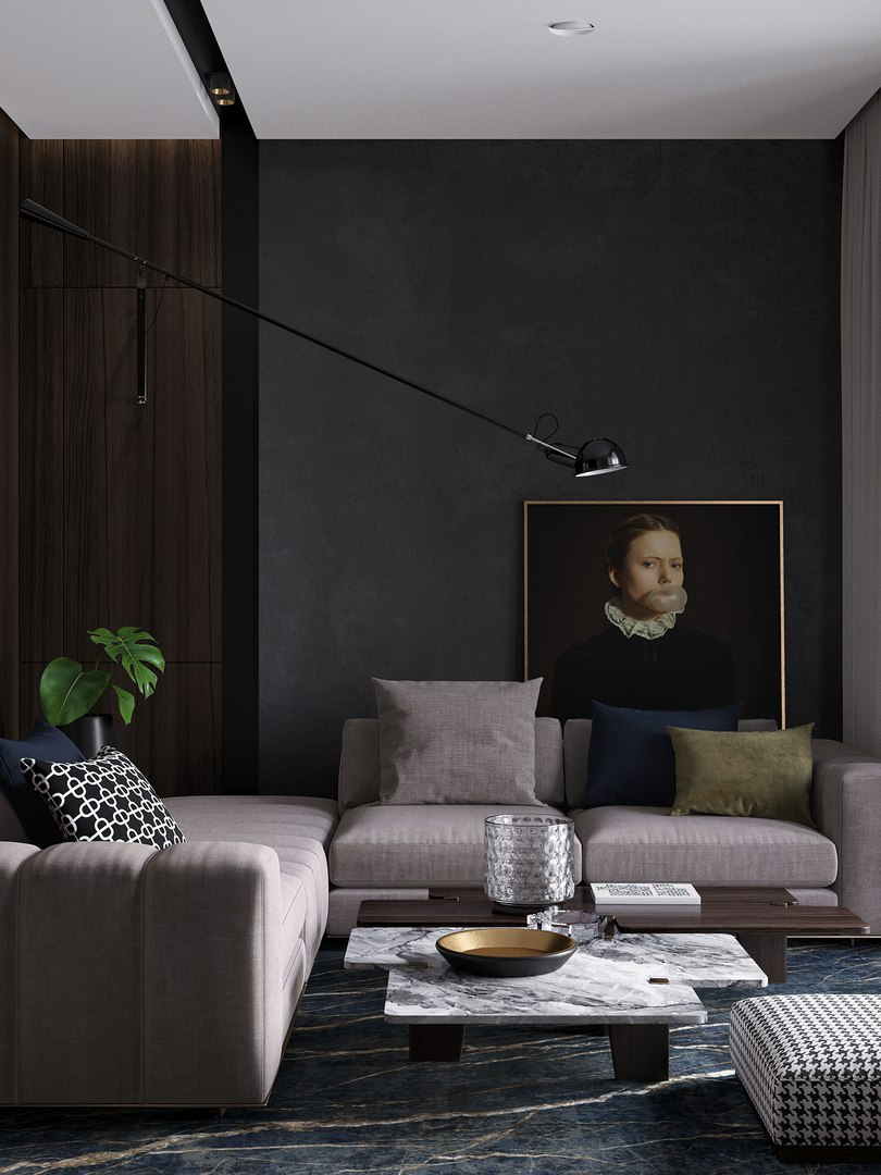 Dark apartment for light pair