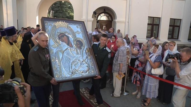 Архимандрит Ефрем в Озерске (15.07.2018)