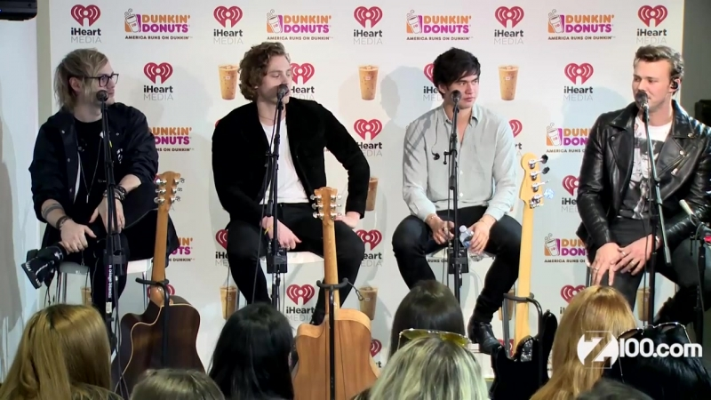 Maxwell Celebrity Shakedown_ You Could Win a 5SOS Signed Guitar