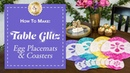 How to Make Easter Egg Placemats Coasters A Shabby Fabrics Sewing Tutorial